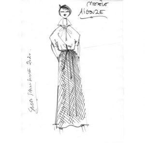 "Robe droite ""indiennes provençales"" | Made in France | Dou Bochi | Aigouze"