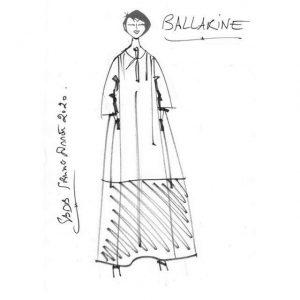 Robe chemise en lin   Made in France   Dou Bochi   Ballarine