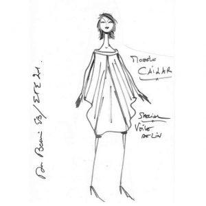 Robe sans manches en lin & voile de lin | Made in France | Dou Bochi | Cailar