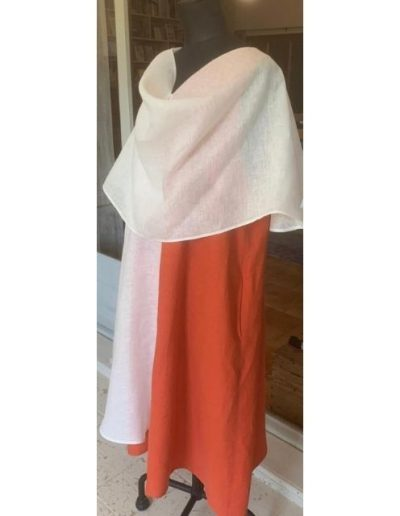 Couvet | Robe en lin | Etole | Made in France | Dou Bochi|
