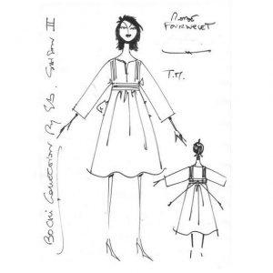 Robe bohème en lin | Made in France | Dou Bochi | Fournelet