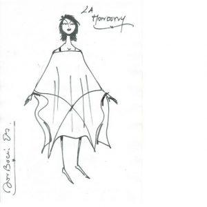Mondony | Robe en lin | Made in France | Dou Bochi Eric Bergère |