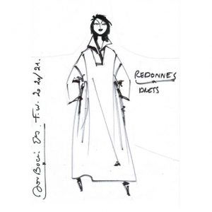 Robe chemise|Made in France|Dou Bochi|Redonnes