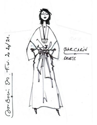 Robe Lin |Made in France|Dou Bochi|Barcarin