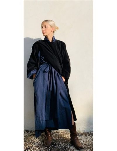 Manteau droit|Made in France|Dou Bochi|Saint Martin