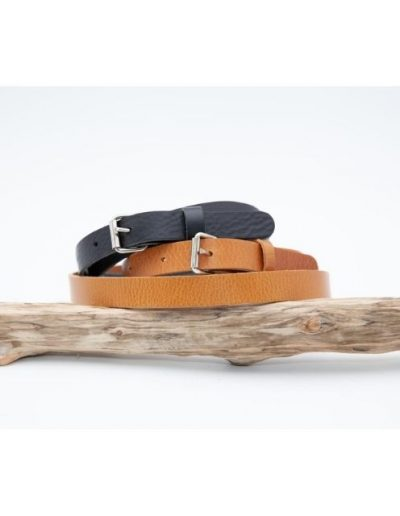 Ceinture cuir 20 mm|Made in France|Atelier Vaccares vs Dou Bochi