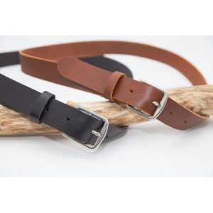 Ceinture en cuir|Made in France|Atelier Vaccaresvs Dou Bochi