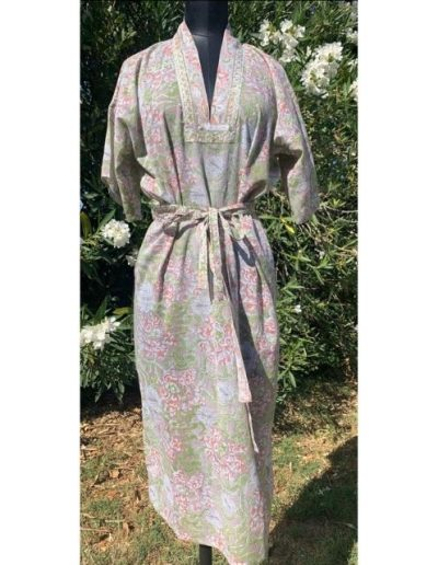 Robe droite|Indiennes de Coton | Made in France | Dou Bochi|