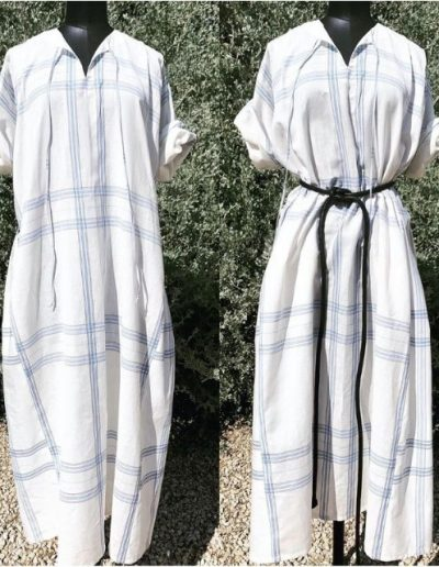 Robe Chemise | Lin |Coton| Made in France | Ponteves|