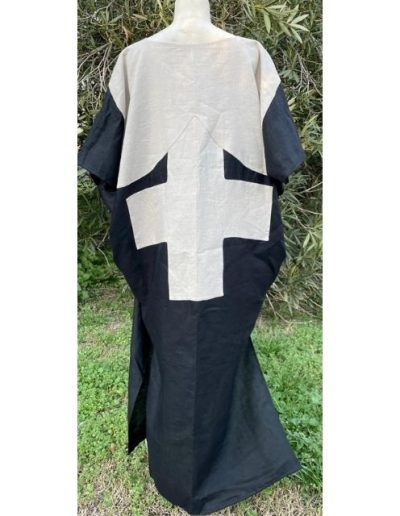 Robe housse en lin|Croix de Camargue|Made in France|Dou Bochi|